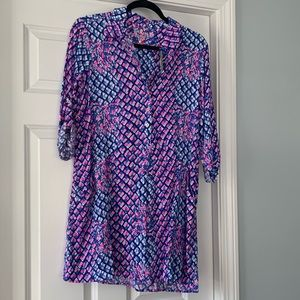 Lilly Pulitzer new with tags a tunic dress Small